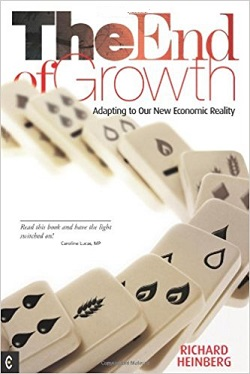 'The End of Growth' book cover