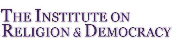 The Institute on Religion and Democracy Logo