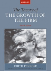 Penrose Theory of the Growth of the Firm book cover